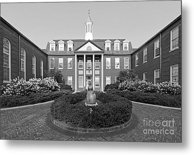 North Park College Nyvall Hall Metal Print by University Icons