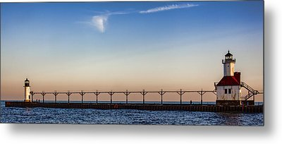 North Pier Metal Print by John Crothers