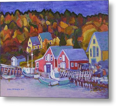 North-west Cove Metal Print by Janet Ashworth