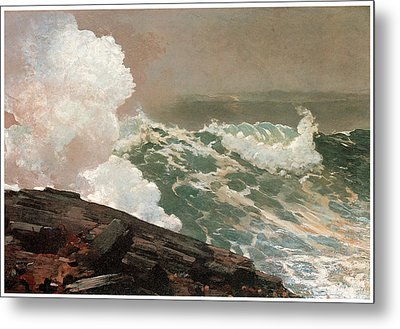 Northeaster Metal Print by Winslow Homer