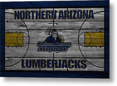 Northern Arizona Lumberjacks Metal Print by Joe Hamilton