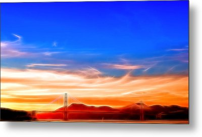 Northern Gateway To Silicon Valley Metal Print