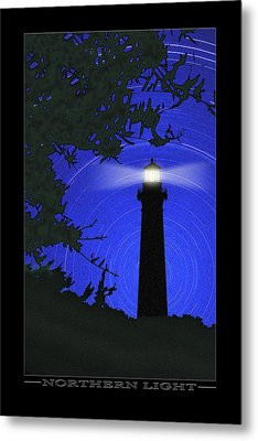 Northern Light Metal Print by Mike McGlothlen