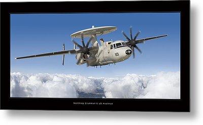Northrop Grumman E-2d Hawkeye Metal Print by Larry McManus