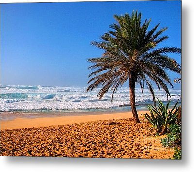 Metal Print featuring the photograph Northshore Beach by Kristine Merc