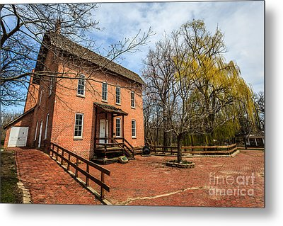 Northwest Indiana Grist Mill Metal Print by Paul Velgos