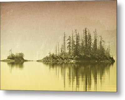 Northwest Islet Metal Print