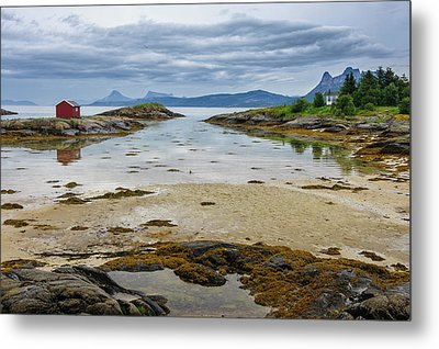 Norway View From Tranoya Metal Print by Fredrik Norrsell