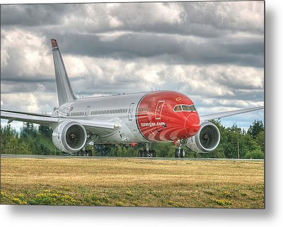 Norwegian 787 Metal Print