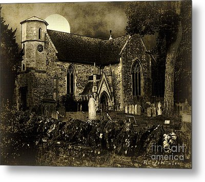 Not A Creature Was Stirring Metal Print by RC DeWinter