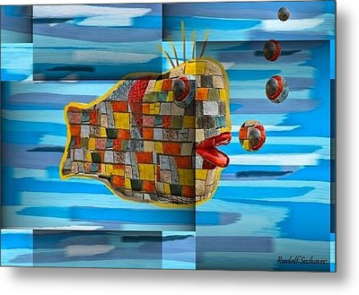 Not Made In China Metal Print by Rudolf Sechovec