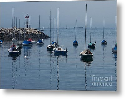Metal Print featuring the photograph Sail Boats  by Eunice Miller