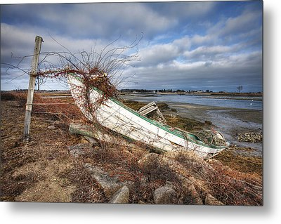 Not Seaworthy Metal Print by Eric Gendron