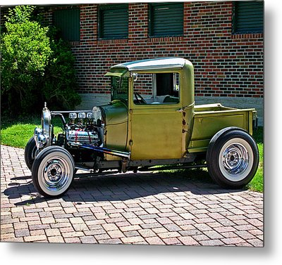 Metal Print featuring the photograph Not So Typical Pick-up by Christopher McKenzie