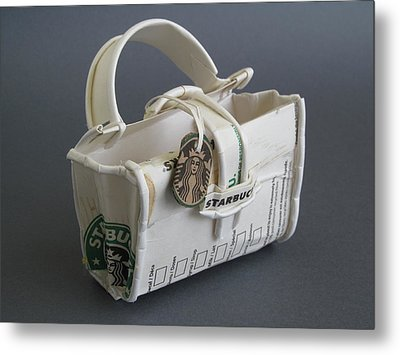 not your LV bag Metal Print by Alfred Ng