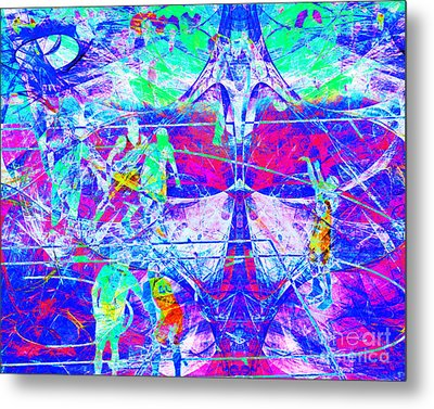 Nothing But Net The Free Throw 20150310inv Metal Print