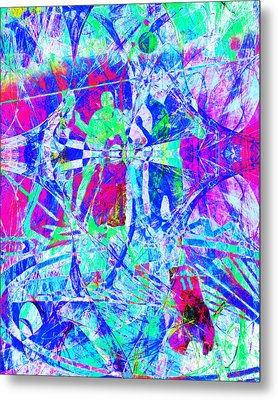 Nothing But Net The Tip Off 20150310inv Metal Print