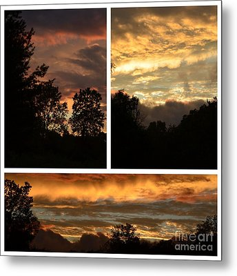 Nothing Like A Sunset  Metal Print