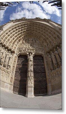 Notre Dame 4 Metal Print by Art Ferrier