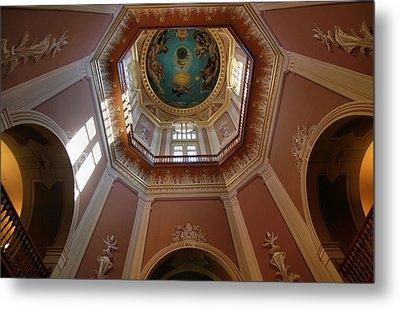 Notre Dame Ceiling Metal Print by Dan Sproul