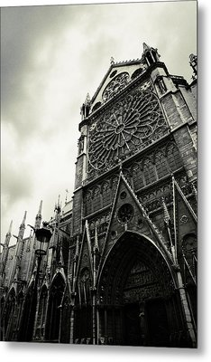 Notre Dame De Paris Metal Print by Cambion Art