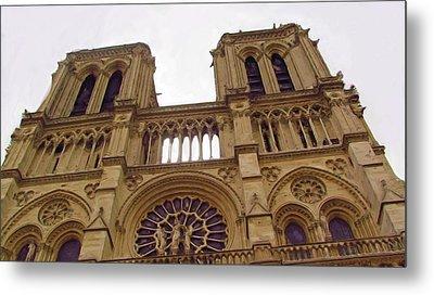 Notre Dame Metal Print by Jenny Armitage