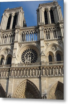 Metal Print featuring the photograph Notre Dame by Tiffany Erdman