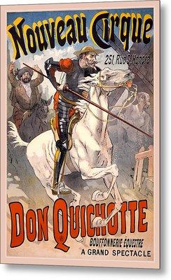 Nouveau Cirque Metal Print by Gary Grayson