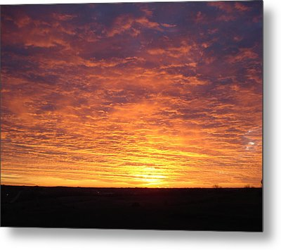 Metal Print featuring the photograph November Morn by J L Zarek
