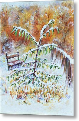 November Metal Print by Svetlana Nassyrov