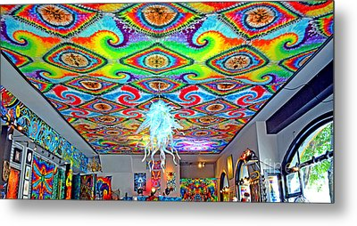 Now That's A Ceiling Metal Print by Jim Fitzpatrick