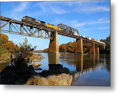 Ns Over The Congaree Metal Print