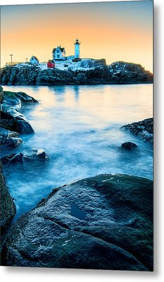 Nubble Light Metal Print by Thomas Schoeller