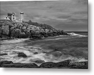 Nubble Storm Metal Print by Scott Thorp