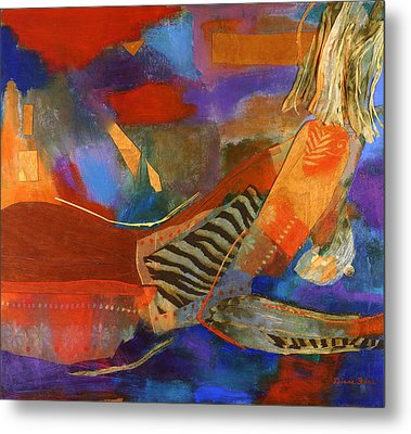 Nude Abstracted Metal Print