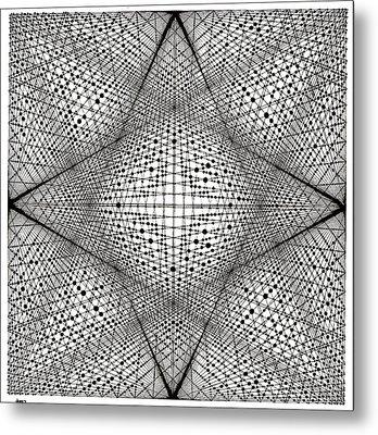 Number 18 Metal Print by Michael Revere