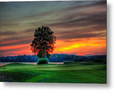 Number 4 The Landing Metal Print by Reid Callaway