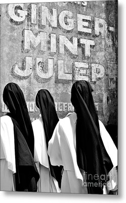 Nun Of That Metal Print