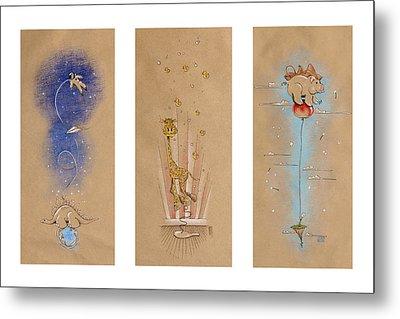 Nursery Collection 1 Metal Print by David Breeding