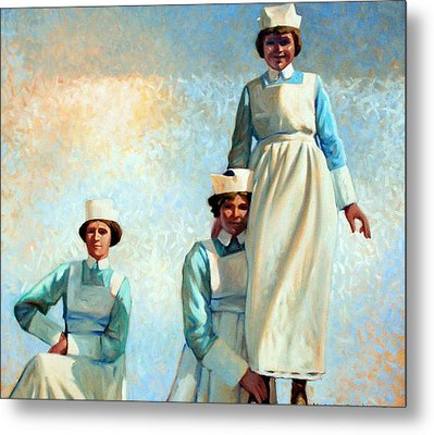 Nurse's Holiday Metal Print by Kevin Lawrence Leveque