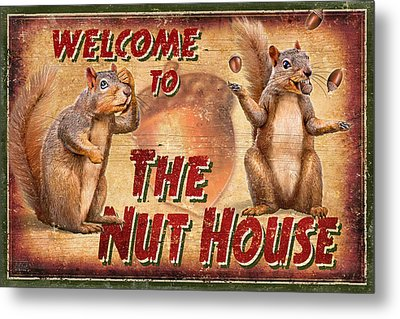 Nut House 2 Metal Print