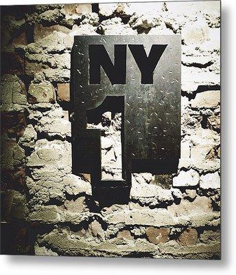NY1 Metal Print