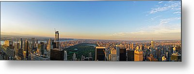 Nyc Panorama Metal Print