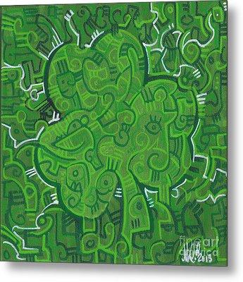 O' Lucky Metal Print by Michael Ciccotello