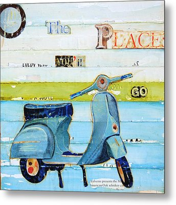 O' The Places You'll Go Metal Print
