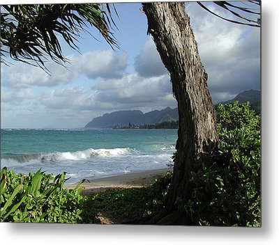 Oahu Coastline Metal Print