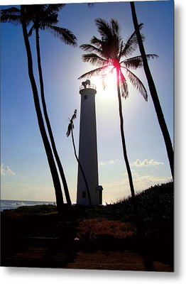 Oahu Lighthouse Metal Print by Kara  Stewart