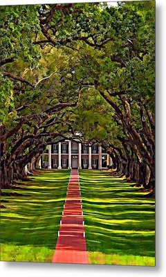 Oak Alley II Metal Print by Steve Harrington
