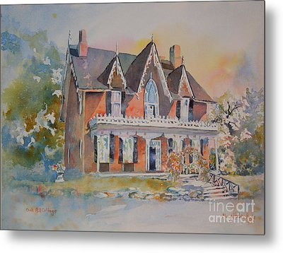 Oak Hill Cottage Metal Print