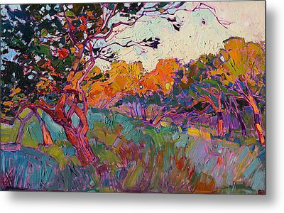 Oaken Light Metal Print by Erin Hanson